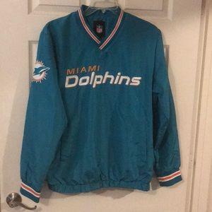 Miami Dolphins Pullover Windbreaker 🏈🐬